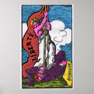 poster do liberte (liberdade) pôster
