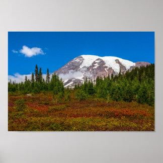 Poster do Monte Rainier