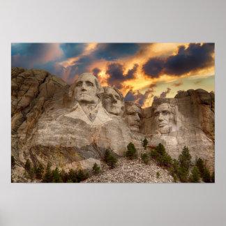 Poster do Monte Rushmore