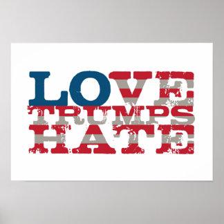 Poster do ódio dos trunfos do amor