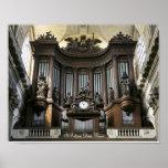 Poster do órgão de Sulpice da rua