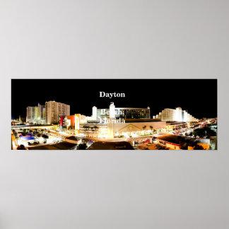 Poster do panorama de Daytona Beach Pôster
