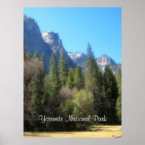 Poster do parque nacional C de Yosemite