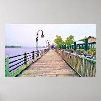 Poster do passeio à beira mar do beira-rio de