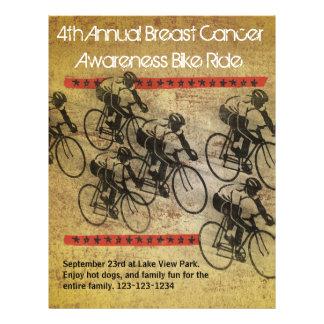 Poster do passeio da bicicleta flyer 21.59 x 27.94cm