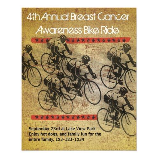 Poster do passeio da bicicleta panfleto