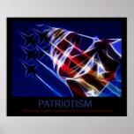 Poster do patriotismo