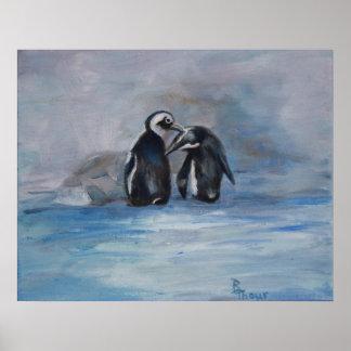 Poster do pinguim