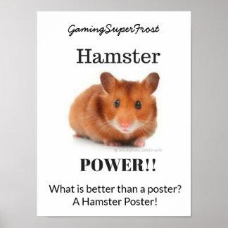 Poster do poder do hamster
