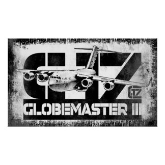 Poster do poster do C-17 Globemaster III