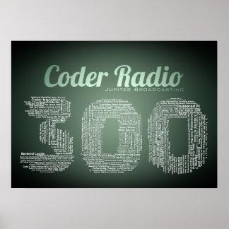 Poster do rádio 300 do codificador