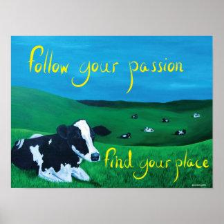 Poster do retângulo (siga sua paixão)
