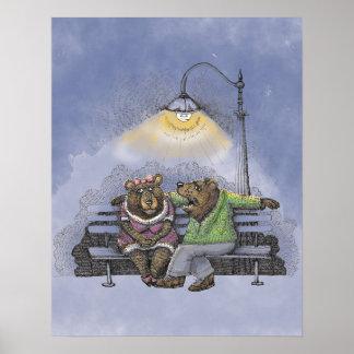 Poster do romance do urso