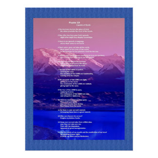 Poster do salmo 19