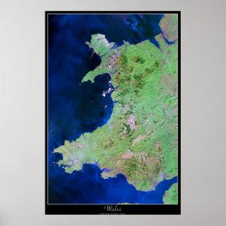 Poster do satélite de Wales, Europa