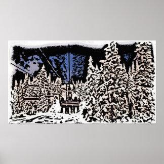 Poster do scape do inverno