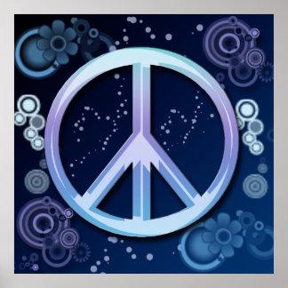 Poster do sinal de paz