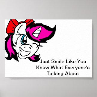 Poster do sorriso