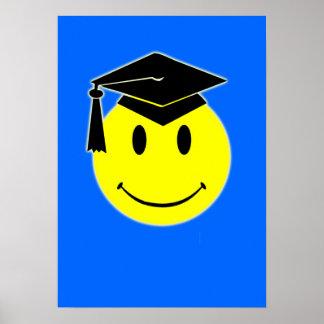 Poster do sorriso da graduação