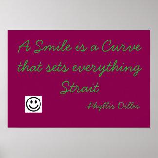 Poster do sorriso pôster