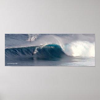 Poster do surf das maxilas pôster