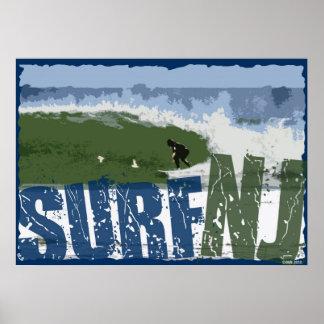 Poster do surf NJ Pôster