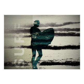 Poster do surf pôster