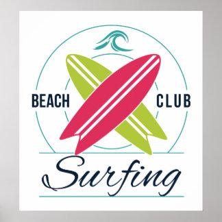 Poster do surfista