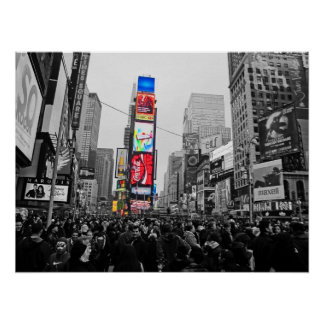 Poster do Times Square de NYC