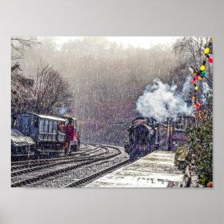 Poster do trem do vapor