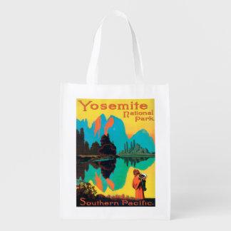 Poster do turista - parque nacional de Yosemite, Sacolas Ecológicas