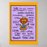 poster do wordcloud de leo