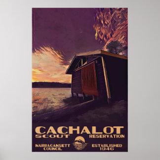 Poster do WPA-Estilo de Cachalot grande