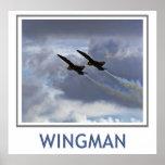 Poster dos anjos azuis do Wingman