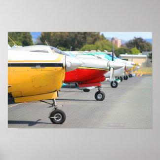 Poster dos aviões