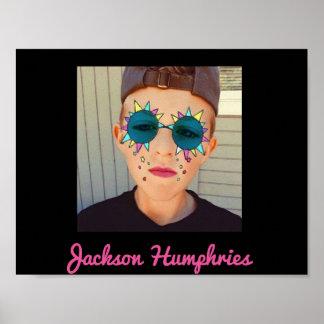 Poster dos humphries de Snapchat Jackson Pôster