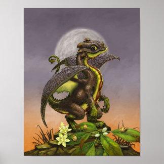 Poster Dragão 11x14 do abacate (4x6 e levantam)