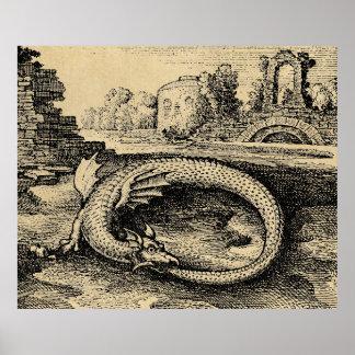 Pôster Dragão de Ouroboros
