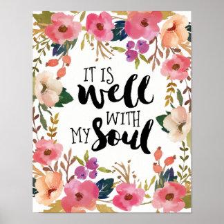 Poster É bem com minha alma
