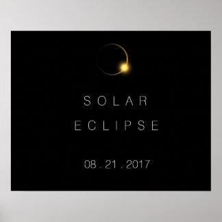 Pôster Eclipse 2017 solar total