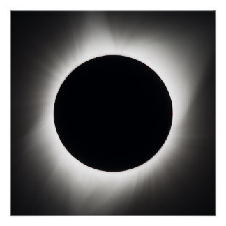 Pôster Eclipse solar total - 21 de agosto de 2017