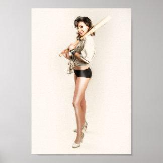 Pôster Elise com bastão