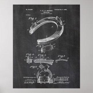 Poster em ferradura da patente