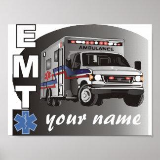 Pôster EMT personalizado