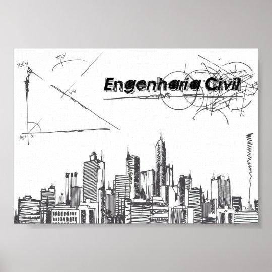 Poster Engenharia Civil
