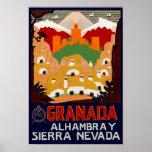 Pôster Espanha de Granada