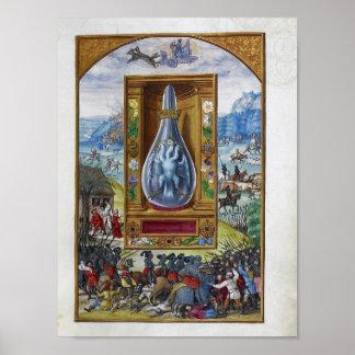 Poster Esplendor Solis, um tratado alquímico alemão