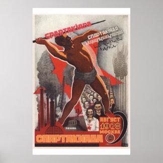 Poster Esporte soviético