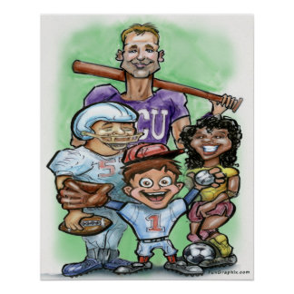 Poster Esportes da juventude