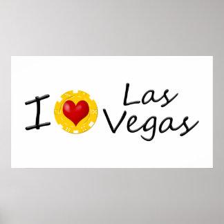 Poster Eu amo Las Vegas